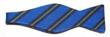 Barbara Blank Big Striped Bow Tie