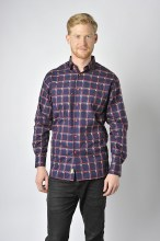Luchiano Visconti  Check Long Sleeve