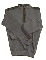 Woodland Trail 1/4 Zip Sweater With Elbow Patches