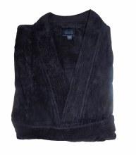 Summerfields Lux Terry Cloth Robe-Black,Navy,Maroon