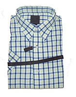 FX Fusion  Plaid Sport Shirt