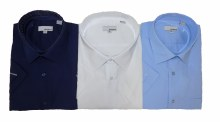 London's B&T Short Sleeve Dress Shirt