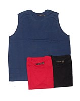 Big & Tall Pocket Sleeveless Muscle Shirt