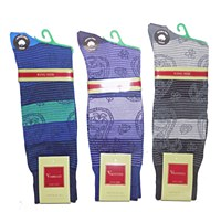 Vannucci King Size Paisley Sock