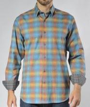 Summerfields Psychadelic Long Sleeve Sport Shirt