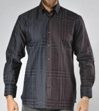 Luchiano Visconti Limited Edition Plaid Long Sleeve Sport Shirt
