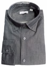 Big & Tall Denim Inspired Dress Shirt