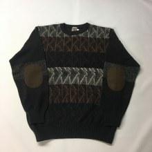 Summerfields Crew Neck Pullover Sweater,Blue,Brown