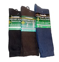 Maximum Stretch Men's Comfort Sock
