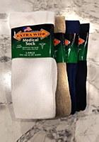 Extra Wide Medical Sock