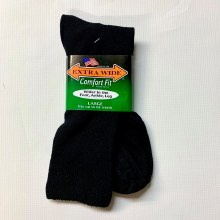 Extra Wide Dress Sock