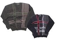 2205 V-Neck Pull Over Sweater