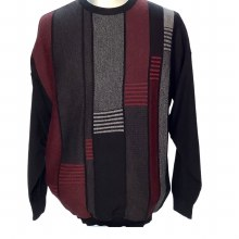 2205 Crew Neck Men's Big and Tall Pull Over Sweater