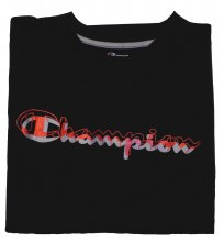 Champion Short Sleeve Solid Crew Side Panel Performance Shirt