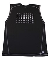 Champion Muscle Top with Screen Print