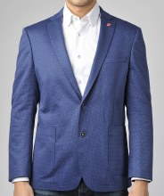 Luchiano Visconti Classic Marine Blue Sport Coat