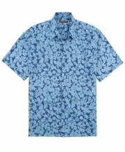 Tori Richard Impressed Short Sleeve Shirt