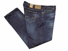 Black Bull Reg Rise Relaxed Fit Stretch Dark Jean
