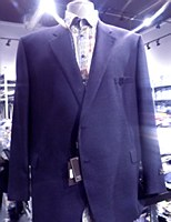 Jack Victor Super 100's Navy Mix Sportcoat