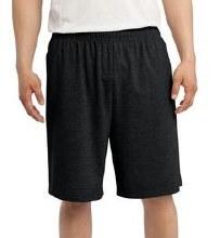 Big & Tall Jersey Short-Black,Navy