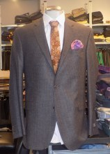 Jack Victor Brown Mix Sportcoat