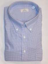 Cooper & Stewart Diamond Long Sleeve Sport Shirt