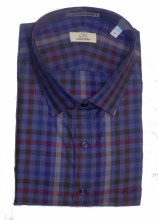 Cooper & Stewart Check Long Sleeve Sport Shirt