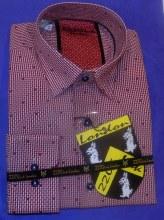 2205 Ink Basket Weave Long Sleeve Sport Shirt