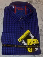 2205 Ink Check Long Sleeve Sport Shirt