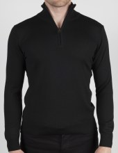 Luchiano Visconti Italian Yarn 1/4 Zip Sweater