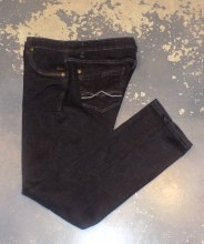 Black Bull Mid Relaxed Fit Black Jean