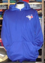 Blue Jays Full Zip Hooded Fleece