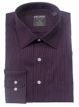Summerfields Pin Stripe No Iron Dress Shirt
