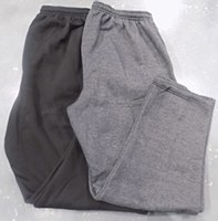 Big & Tall Open Bottom Fleece Pant