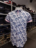 Soul Of London Botanic Short Sleeve Casual Shirt