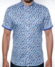 2205 Ink The Perfect Shot Short Sleeve Sport Shirt