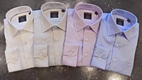 Summerfields Long Sleeve Basket Weave Dress Shirt