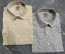 Summerfields Paisley Short Sleeve Shirt