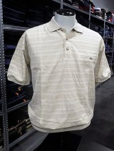 Banded Bottom Shirt Co. Geo Polo
