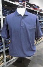 Banded Bottom Shirt Co. Ribbed Polo