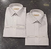 Summerfield Gold Label Windowpane Dress Shirt