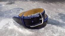 Lejon Anzio Alligator Genuine Calfskin Leather Belt