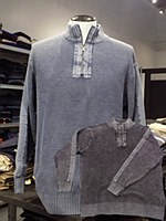 FX Fusion Sandwash Quarter Zip Sweater