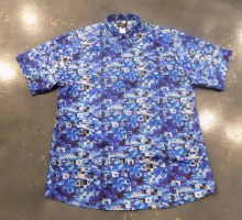 Jon Randall Blue Check Short Sleeve Shirt