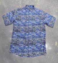 Jon Randall Royal Wave Short Sleeve Shirt