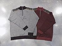 FX Fusion Birdseye Quarter Zip Sweater