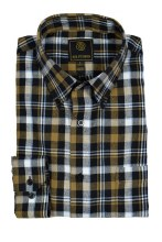 FX Fusion Gingham Pane Long Sleeve Sport Shirt