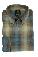 FX Fusion Colonial Check Long Sleeve Sport Shirt
