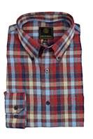FX Fusion McIntosh Check Long Sleeve Sport Shirt