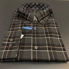 Leo Cheavlier Button Down Long Sleeve Sport Shirt